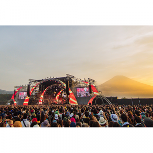 SPACE SHOWER SWEET LOVE SHOWER 2017 Broadcast in Japan and 7 other countries, the biggest Japanese outdoor live event, first broadcast in Mongolia –