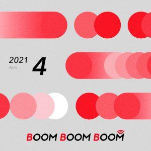 今後の音楽シーンを先取りできる必聴プレイリスト「BOOM BOOM BOOM」の4月プレイリストが公開!