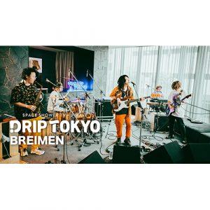 スペシャ×J-WAVEの公開収録企画「DRIP TOKYO」、BREIMENのライブ映像をプレミア公開!