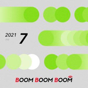 今後の音楽シーンを先取りできる必聴プレイリスト「BOOM BOOM BOOM」の7月プレイリストが公開!